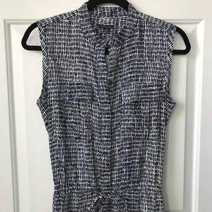 Ann Taylor linen shirt dress NWT